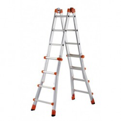 GIERRE PEPPina AL030 ALUMINIUM MULTIFUNCTION TELESCOPIC LADDER