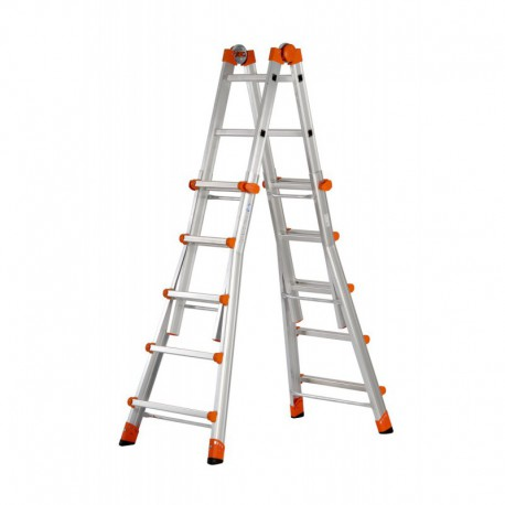 Gierre Peppina Al040 Aluminium Multifunction Telescopic Ladder