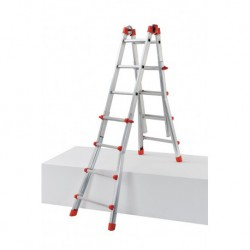 GIERRE PEPPina AL002 ALUMINIUM MULTIFUNCTION TELESCOPIC LADDER