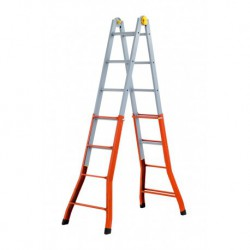 GIERRE PEPPina +A0070 STEEL MULTIFUNCTION TELESCOPIC LADDER