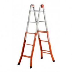 GIERRE PEPPina A0010 STEEL MULTIFUNCTION TELESCOPIC LADDER