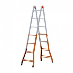 GIERRE PEPPina A0050 STEEL MULTIFUNCTION TELESCOPIC LADDER
