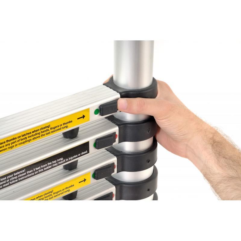 Scala gierre alz09 estensibile telescopica in alluminio - Scale minimo ingombro ...