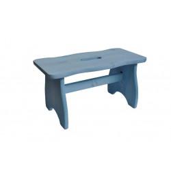 VALDOMO 594/06 Sgabellino in legno di pino azzurro