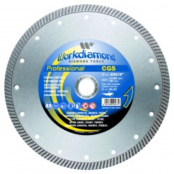 WORKDIAMOND Diamond disc - Continuous rim