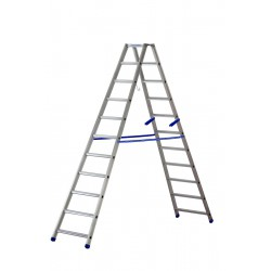GIERREPRO +AL880 DOUBLED SIDED ALUMINIUM LADDER