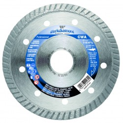 WORKDIAMOND CWA DIAMOND DISC - COUNTINUOUS RIM
