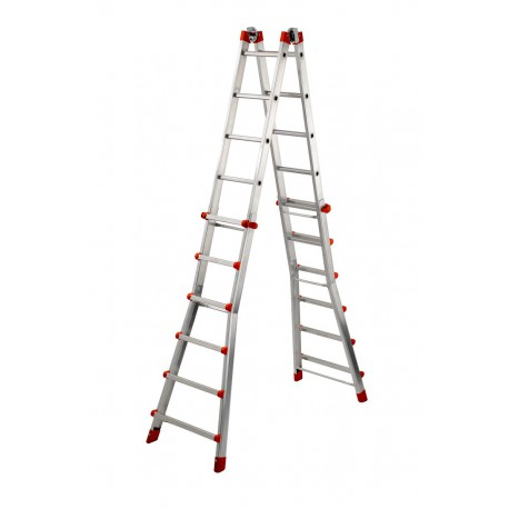 DEXTER PEPPina AL060 ALUMINIUM MULTIFUNCTION TELESCOPIC LADDER