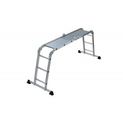 GIERRE MULTIPLA AL900D MULTIPOSITION ALUMINIUM LADDER WITH PLATFORM