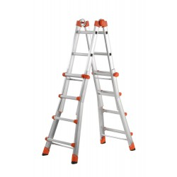 GIERRE PEPPina AL020 ALUMINIUM MULTIFUNCTION TELESCOPIC LADDER