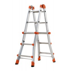 GIERRE PEPPina AL010 ALUMINIUM MULTIFUNCTION TELESCOPIC LADDER