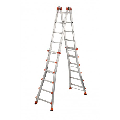 GIERRE PEPPina AL060 ALUMINIUM MULTIFUNCTION TELESCOPIC LADDER