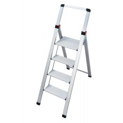 GIERRE SUPERSTEP B0200 STEEL STEP STOOL WITH HIGH SAFETY RAIL