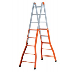 GIERRE PEPPina A0080 STEEL MULTIFUNCTION TELESCOPIC LADDER