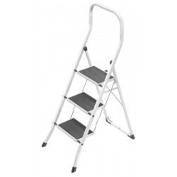 GIERRE SUPERSTEP B0300 STEEL STEP STOOL WITH HIGH SAFETY RAIL