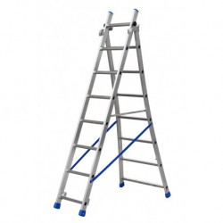 GIERREPRO +ALSP208 2 SECTION EXTENDING LADDER FLARED BASE