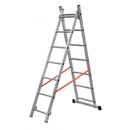 GIERRE MODULA AL305 2 SECTION EXTENDING LADDER PARALLEL UPRIGHTS