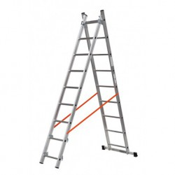 GIERRE MODULA AL315 2 SECTION EXTENDING LADDER PARALLEL UPRIGHTS