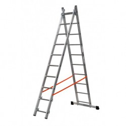 GIERRE MODULA AL320 2 SECTION EXTENDING LADDER PARALLEL UPRIGHTS