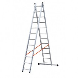GIERRE MODULA AL340 2 SECTION EXTENDING LADDER PARALLEL UPRIGHTS