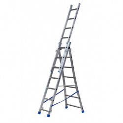 GIERREPRO +ALSP307 3 SECTION EXTENDING LADDER FLARED BASE