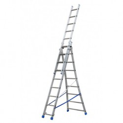 GIERREPRO +ALSP309 3 SECTION EXTENDING LADDER FLARED BASE
