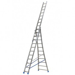 GIERREPRO +ALSP312 3 SECTION EXTENDING LADDER FLARED BASE