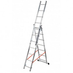 GIERRE MODULA AL405 3 SECTION EXTENDING LADDER PARALLEL UPRIGHTS