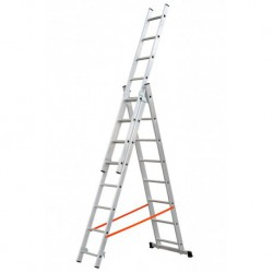 GIERRE MODULA AL410 3 SECTION EXTENDING LADDER PARALLEL UPRIGHTS