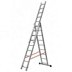 GIERRE MODULA AL415 3 SECTION EXTENDING LADDER PARALLEL UPRIGHTS