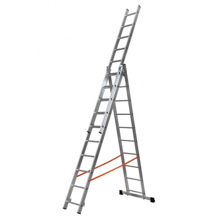 GIERRE MODULA AL420 3 SECTION EXTENDING LADDER PARALLEL UPRIGHTS