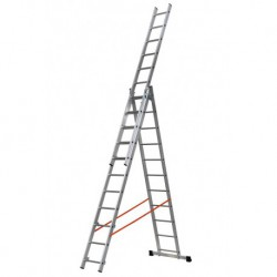 GIERRE MODULA AL435 3 SECTION EXTENDING LADDER PARALLEL UPRIGHTS